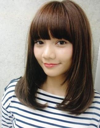 2012演绎专属你的甜美发型 圆脸发型推荐 中的图片