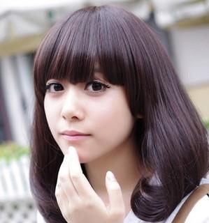 圆脸适合的发型 精选梨花头发型 中的图片